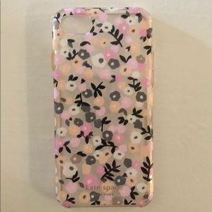 Kate Spade iPhone 7 flower case